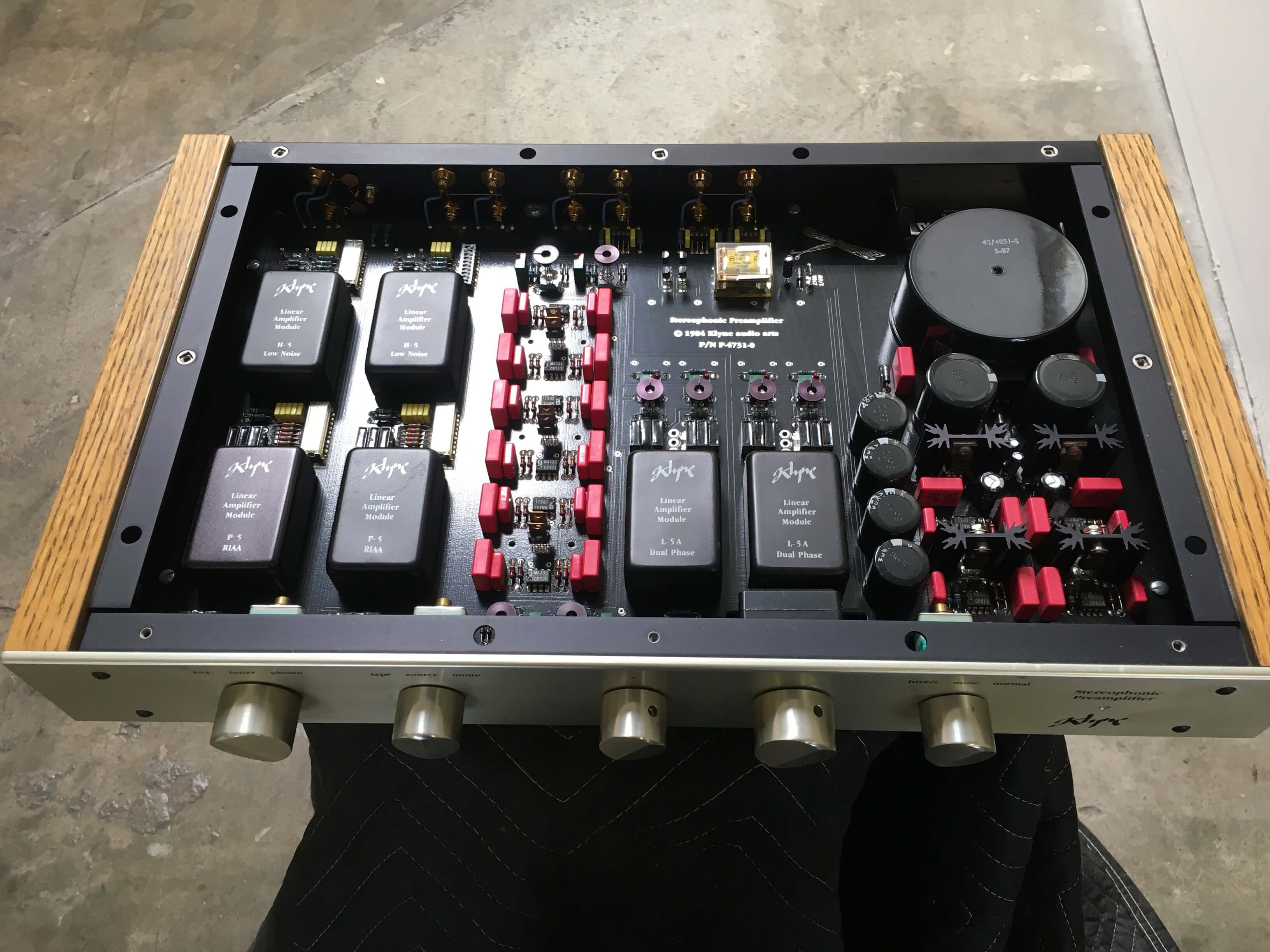 Klyne stereophonic preamplifier SK-5A