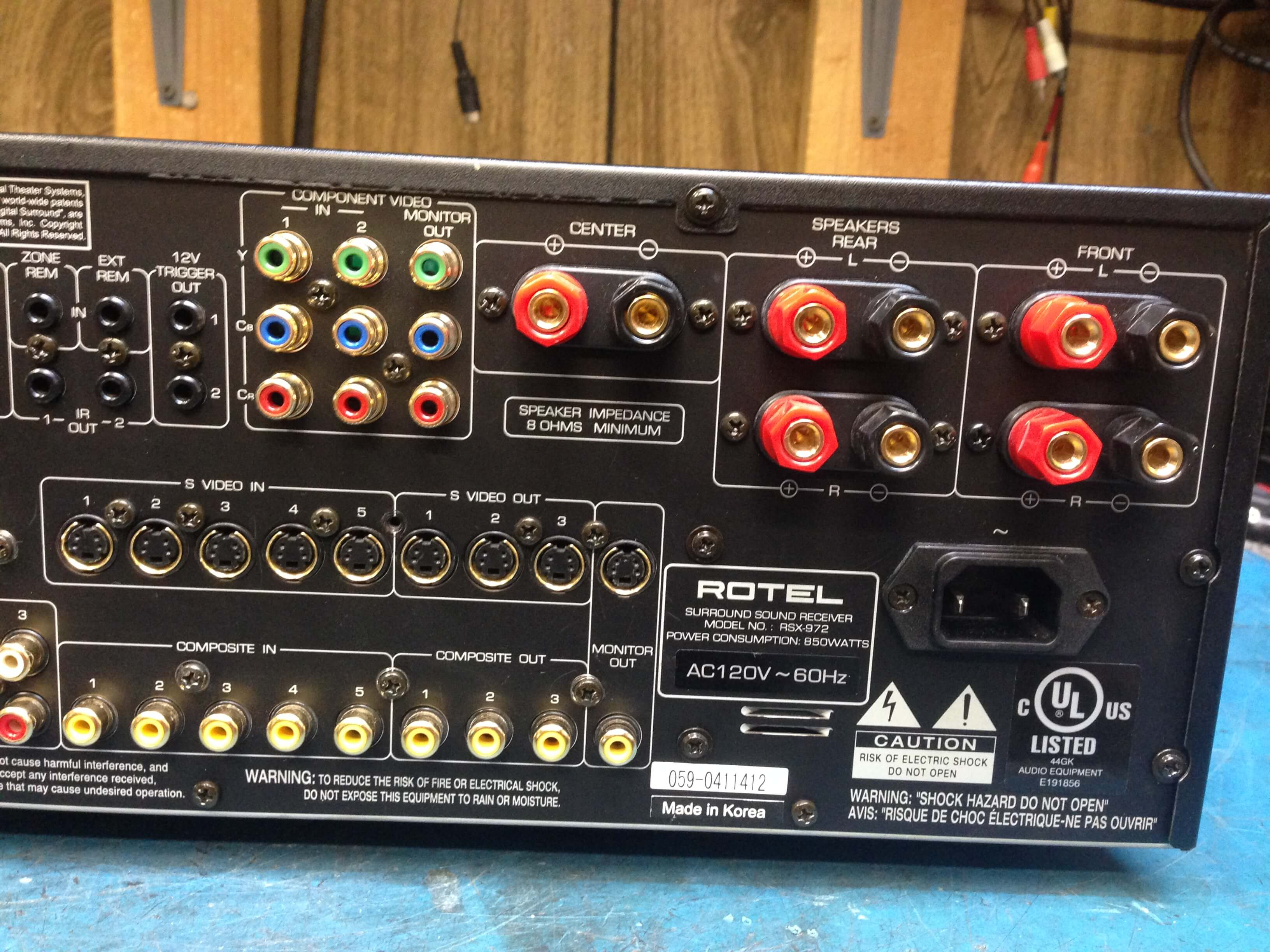 Rotel RSX-972 surround sound receiver