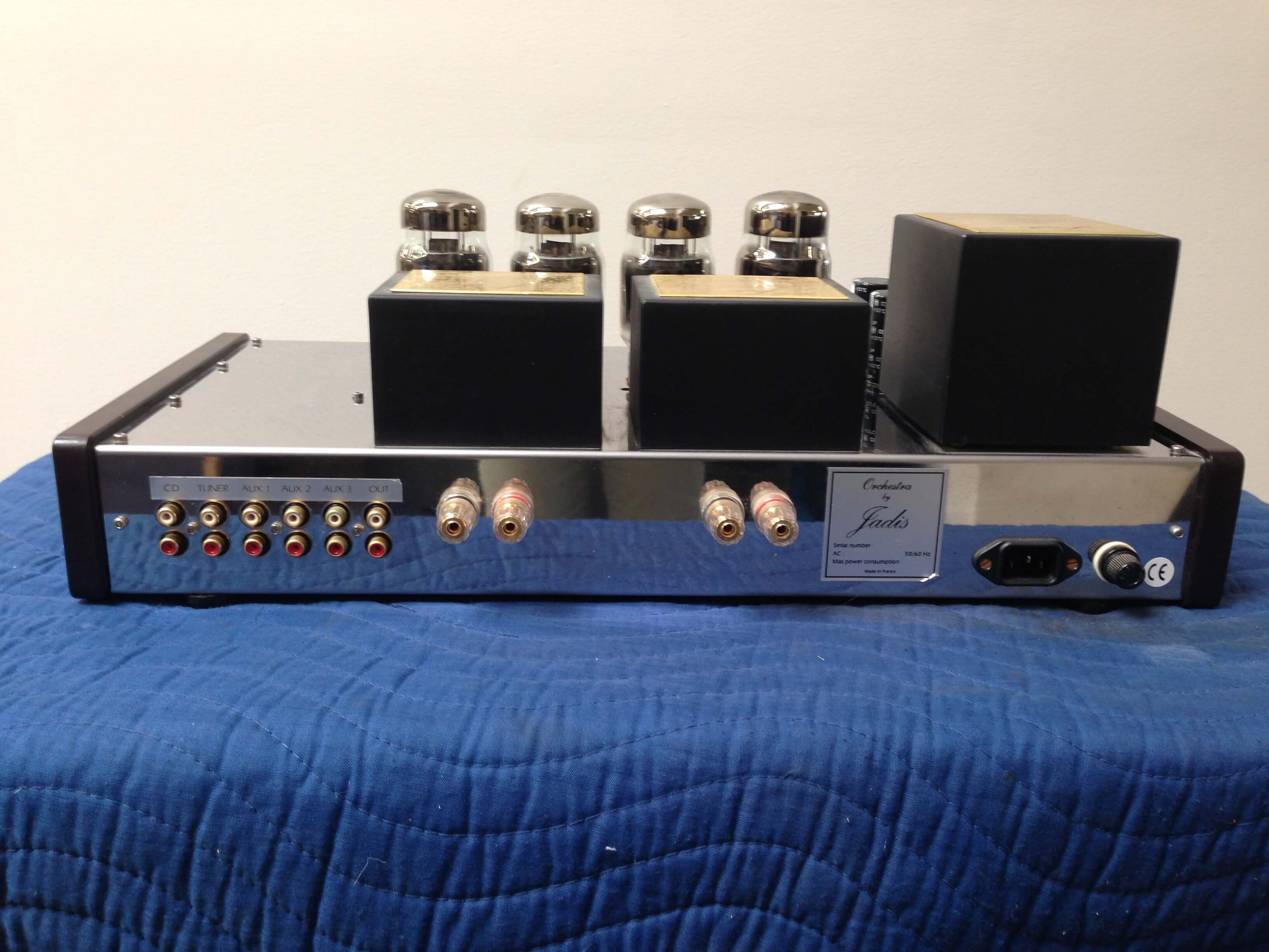 Jadis Orchestra Reference integrated amplifier