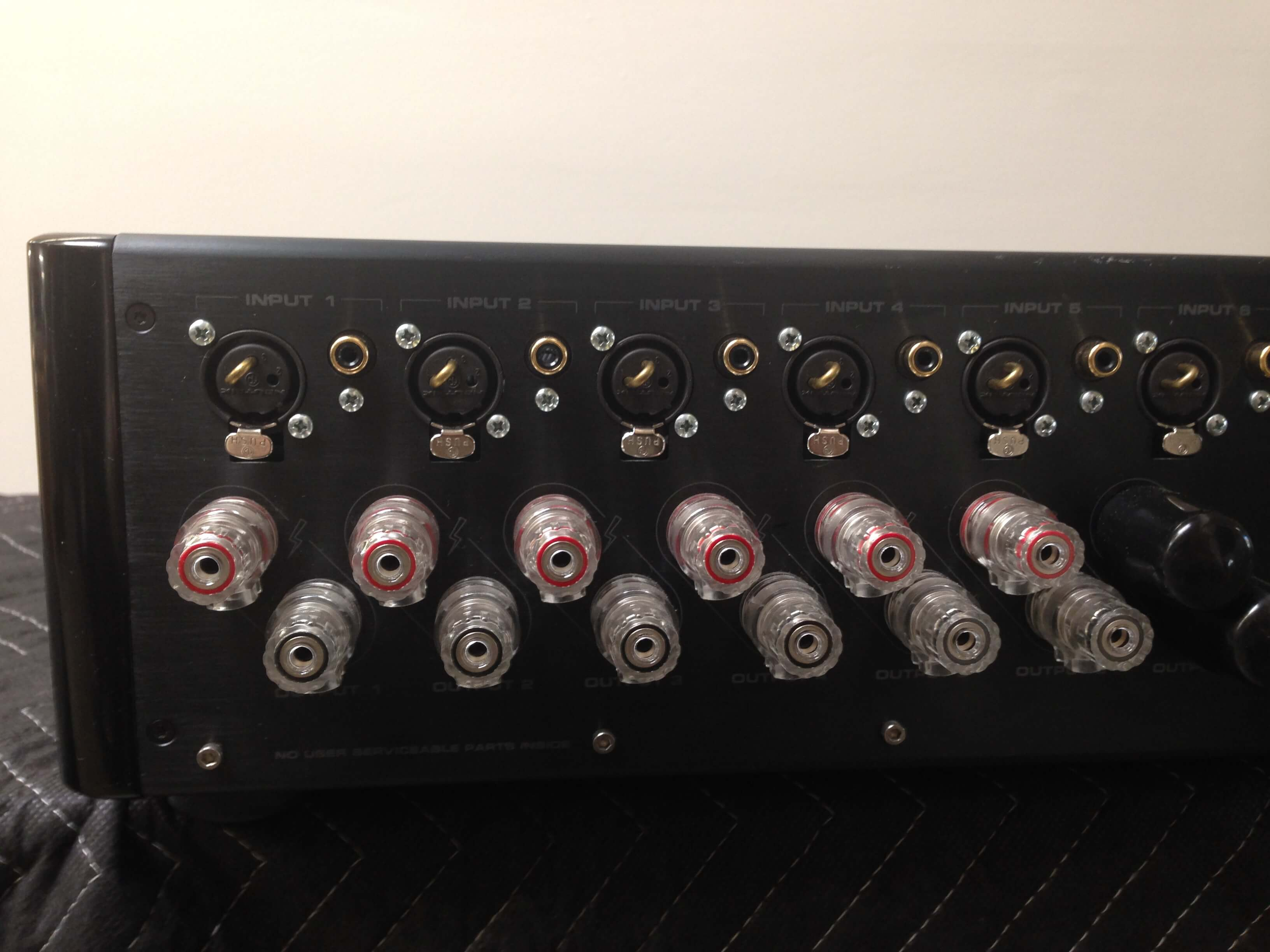 Krell Showcase 6 channel amplifier