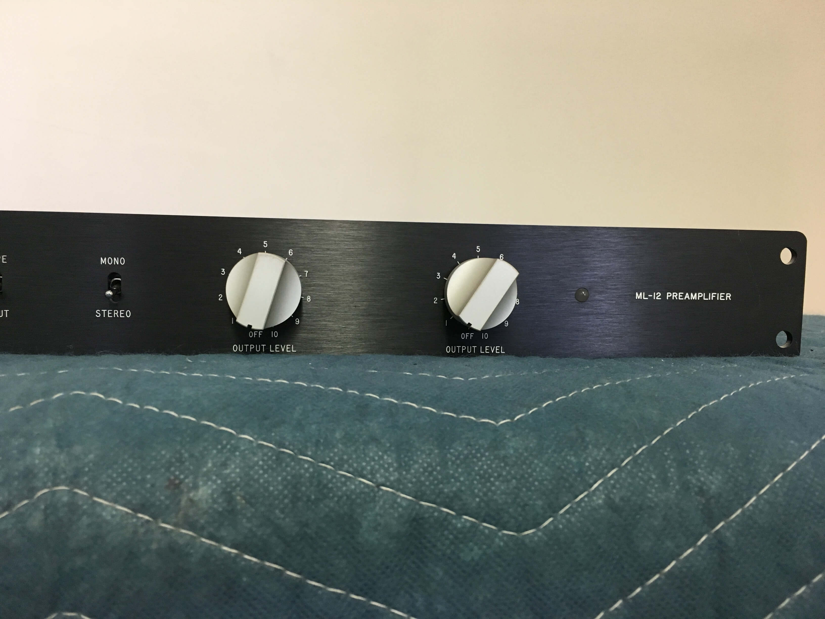 Mark Levinson ML-12 preamplifier and ML-11 power amplifier system