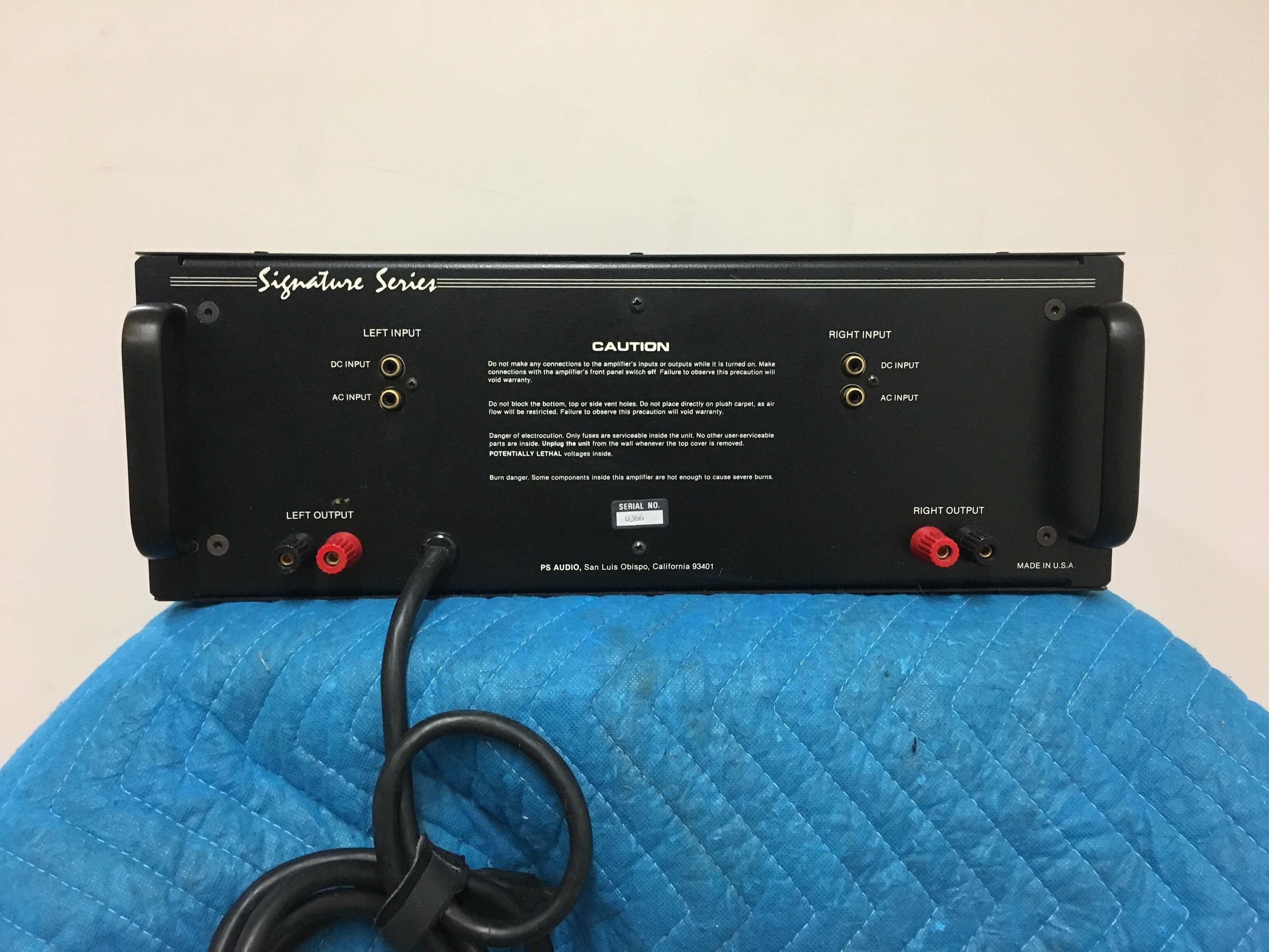 PS Audio 200C amplifier
