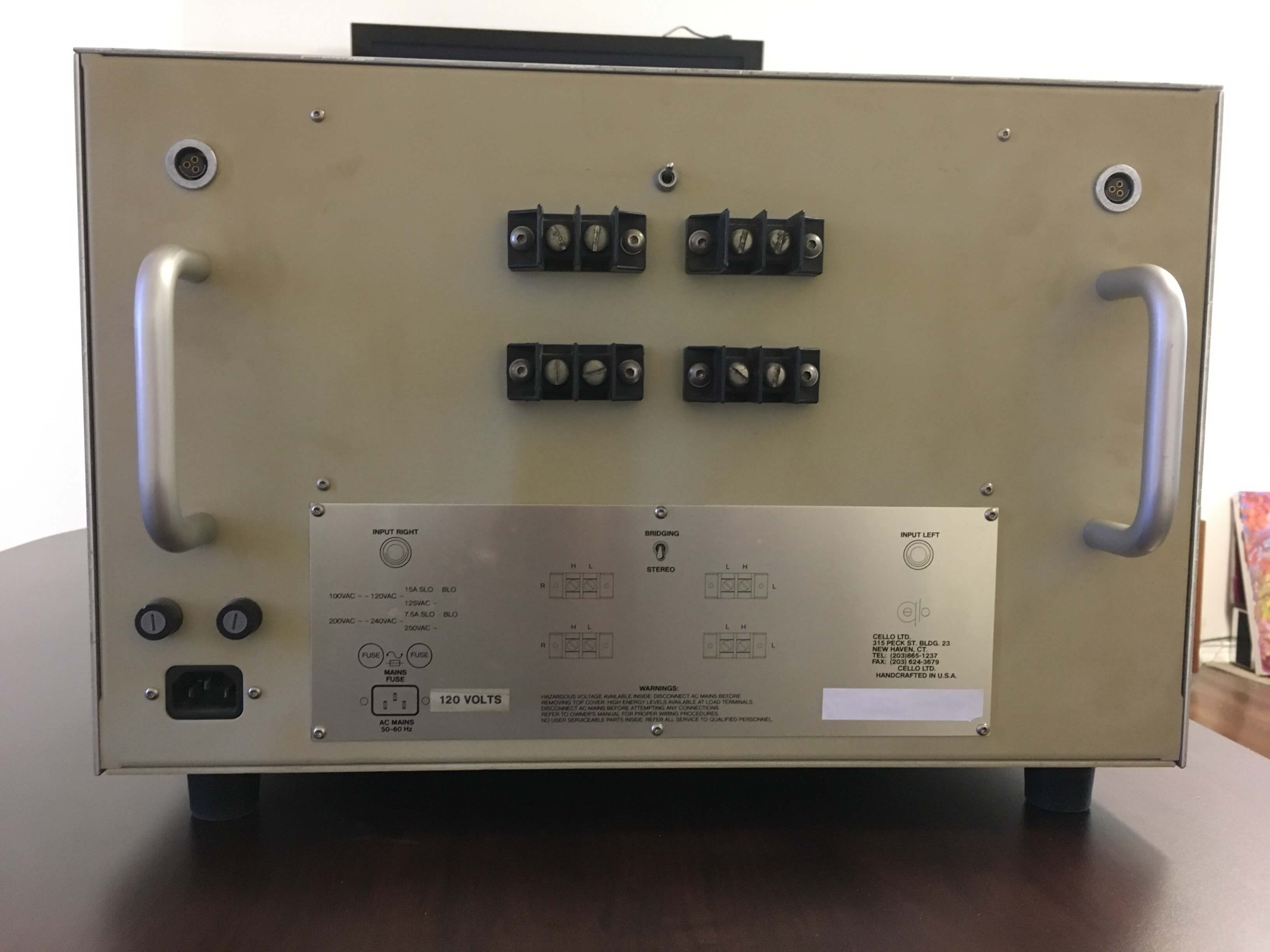 Cello Duet 350 amplifier