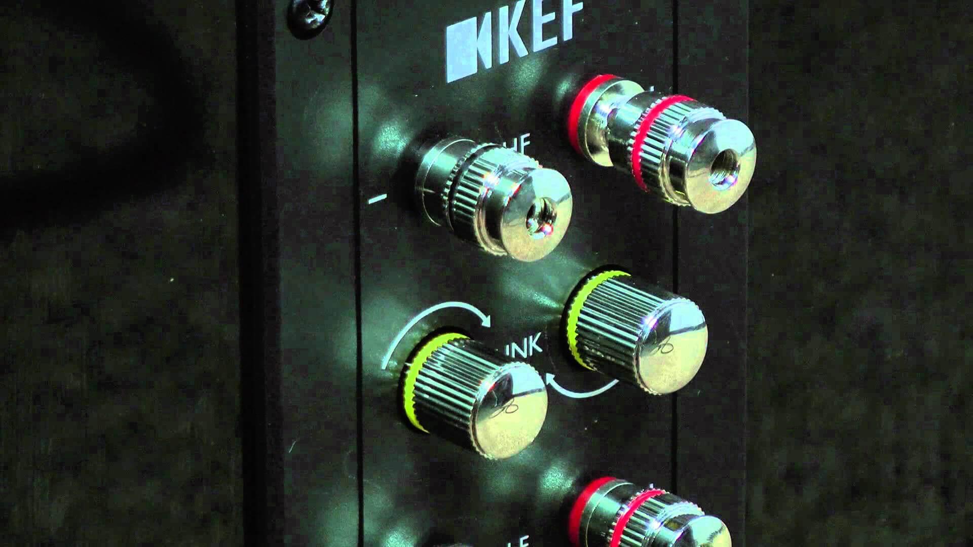 KEF R700 speakers
