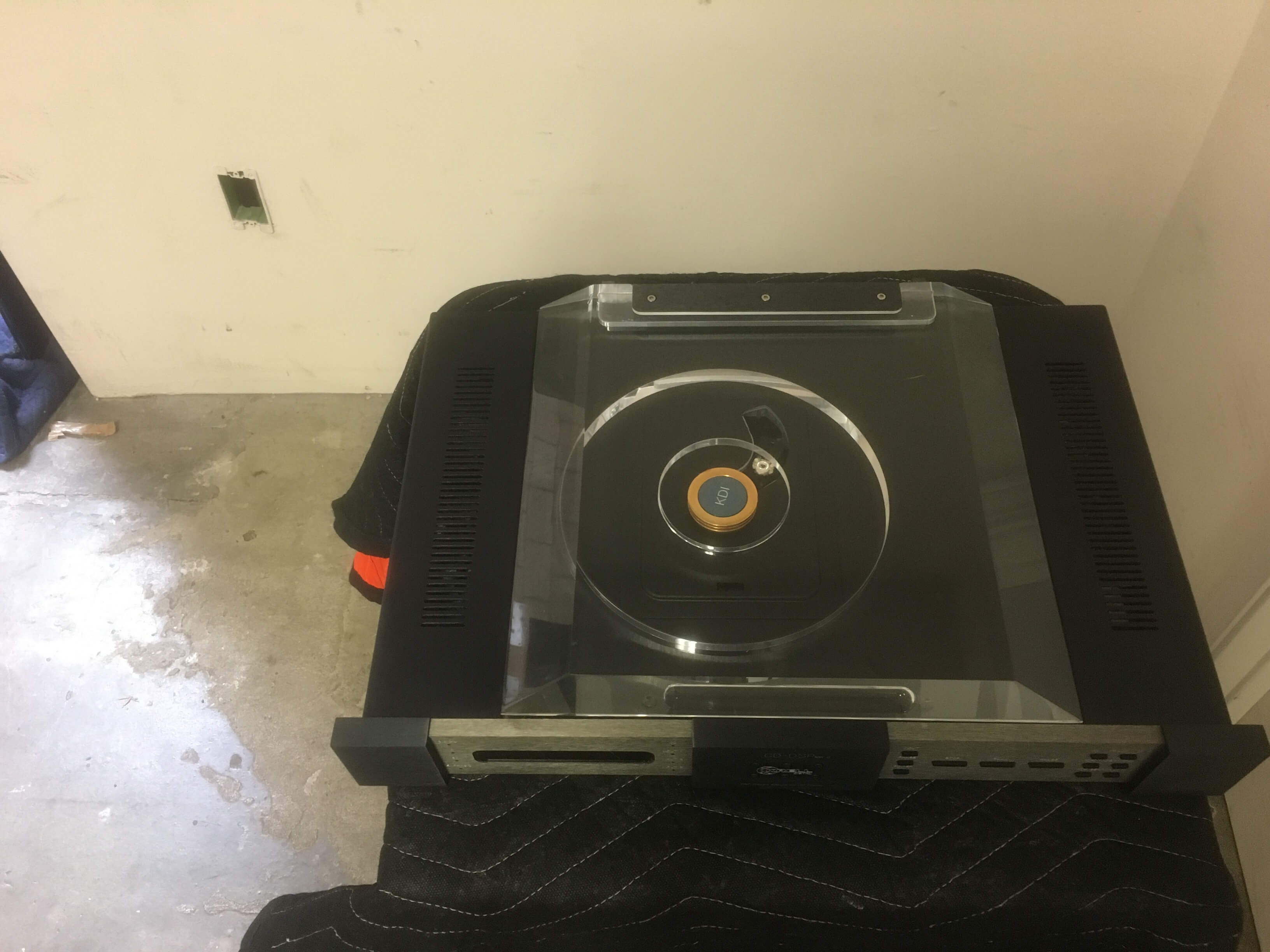 Krell CD-DSP MK2 cd player transport