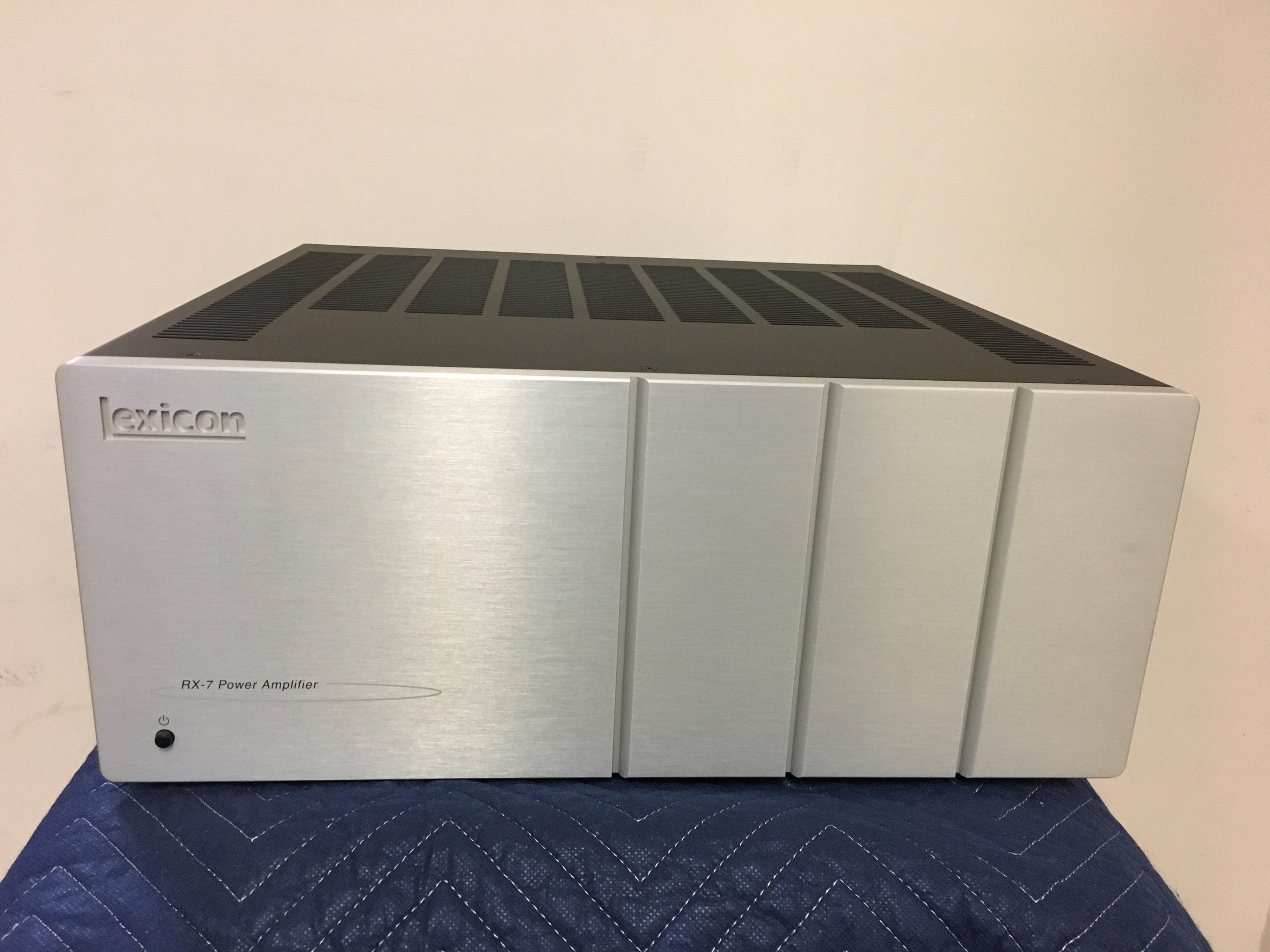 Lexicon RX-7 power amplifier