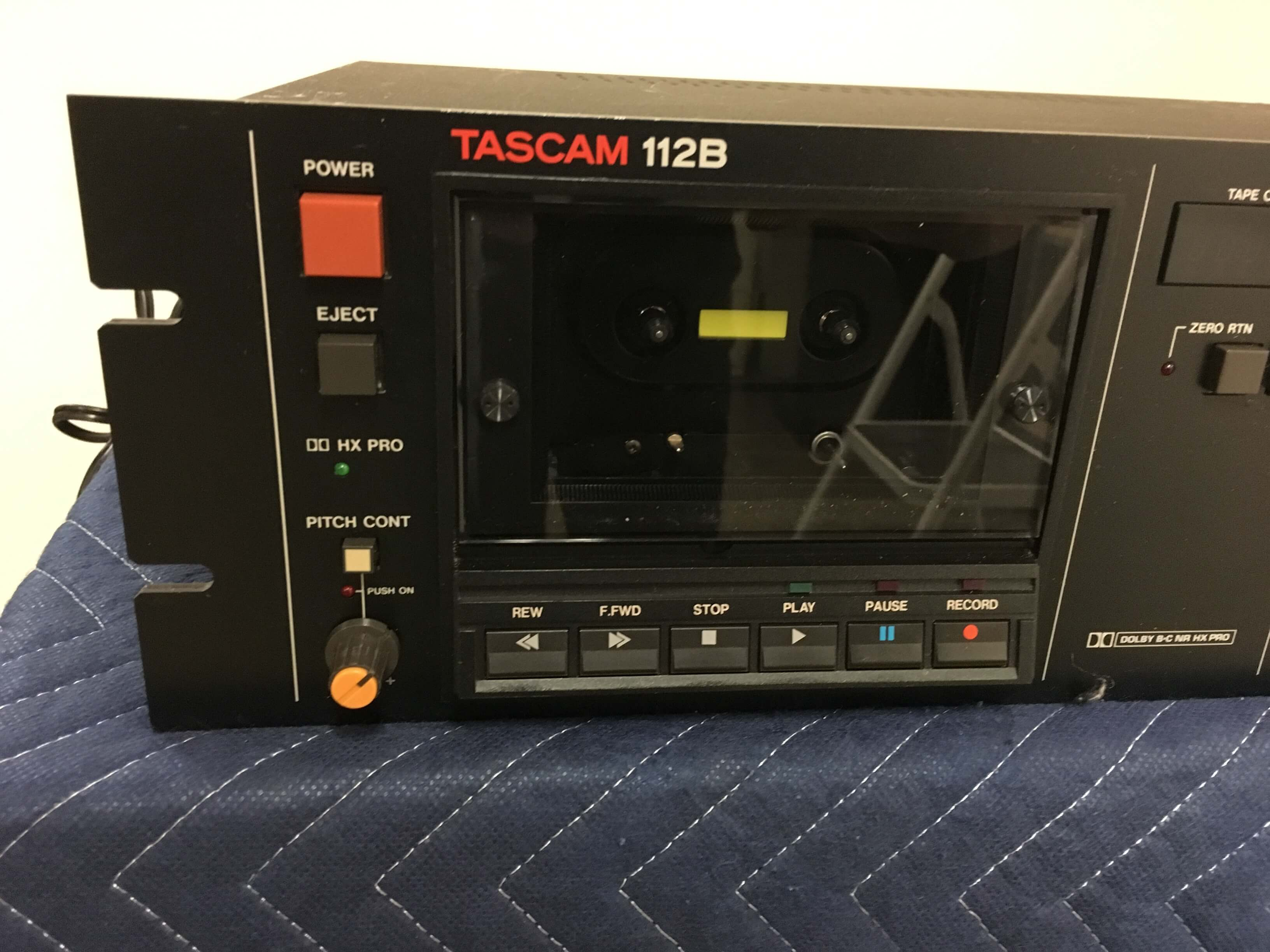 Tascam 112B professional tape deck