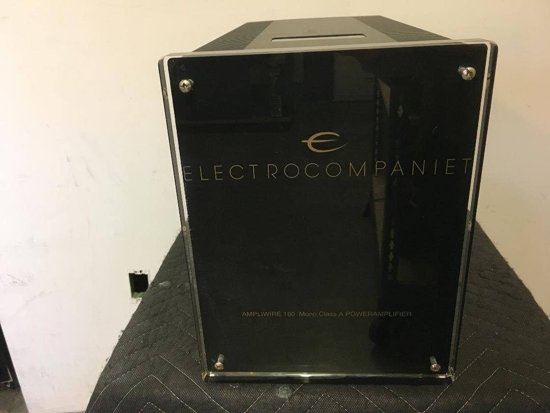 Electrocompaniet AW 180 mono Class A power amplifiers