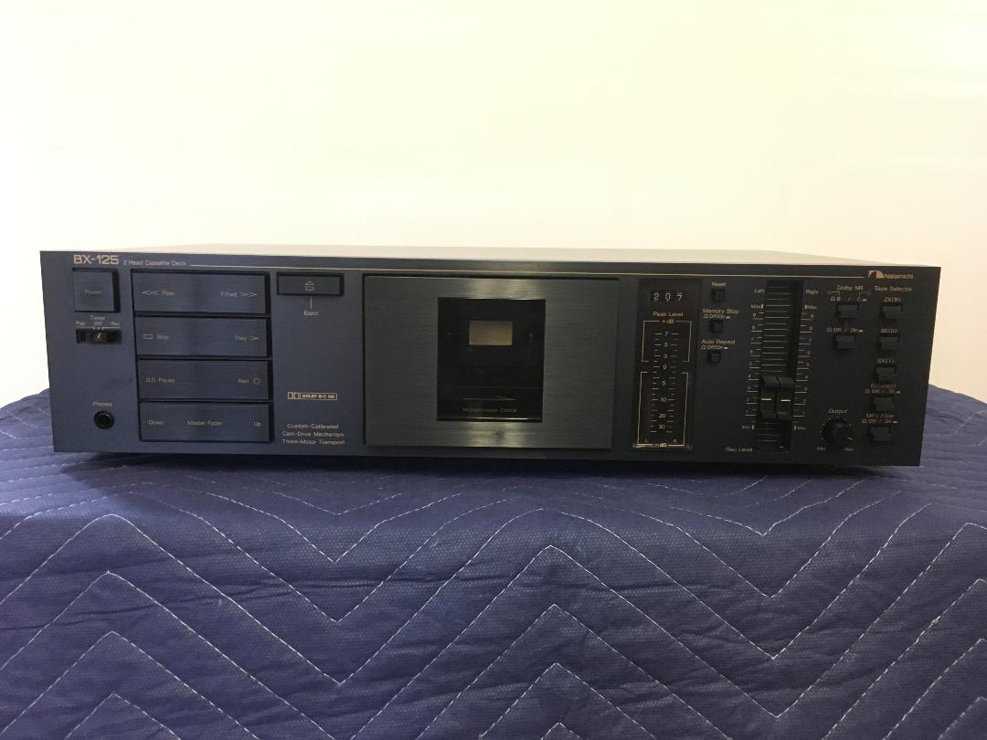 Nakamichi BX-125 2 head cassette deck