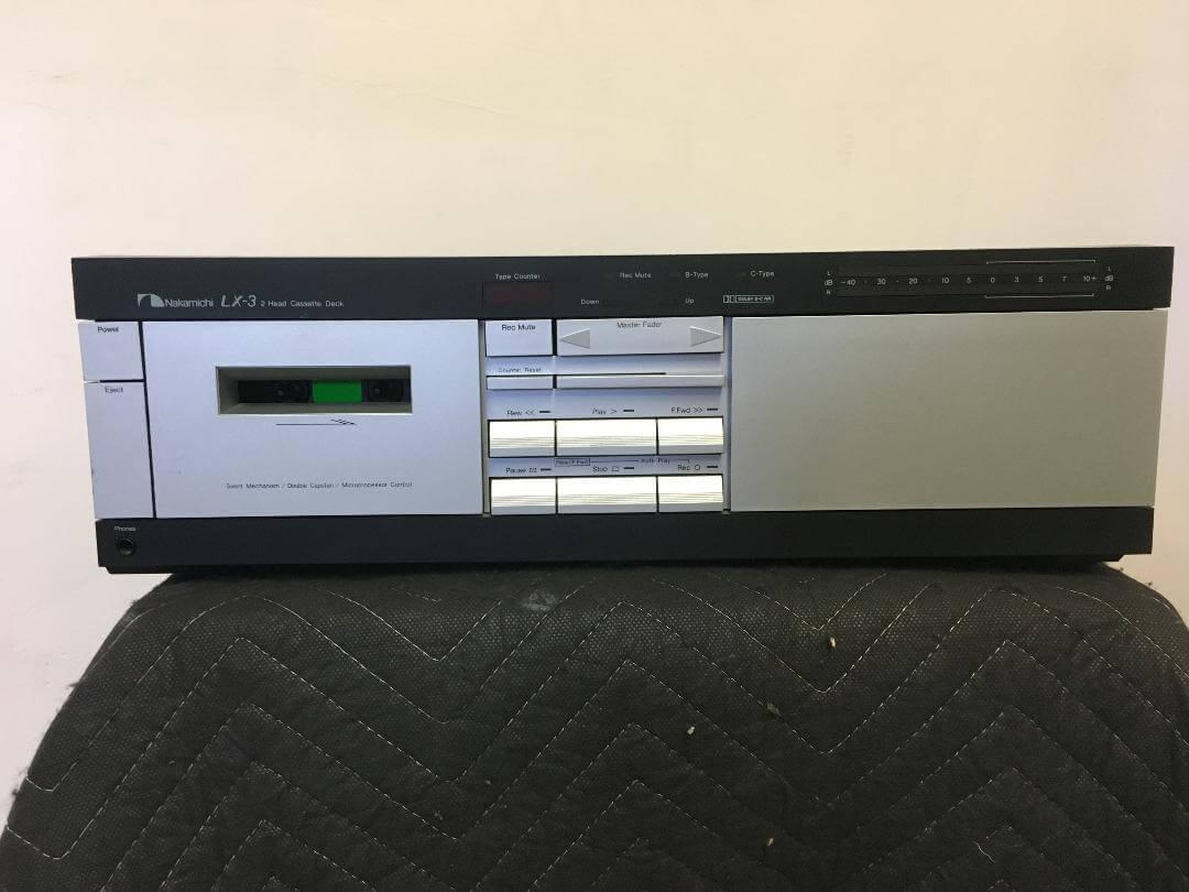 Nakamichi LX-3 2 head cassette deck