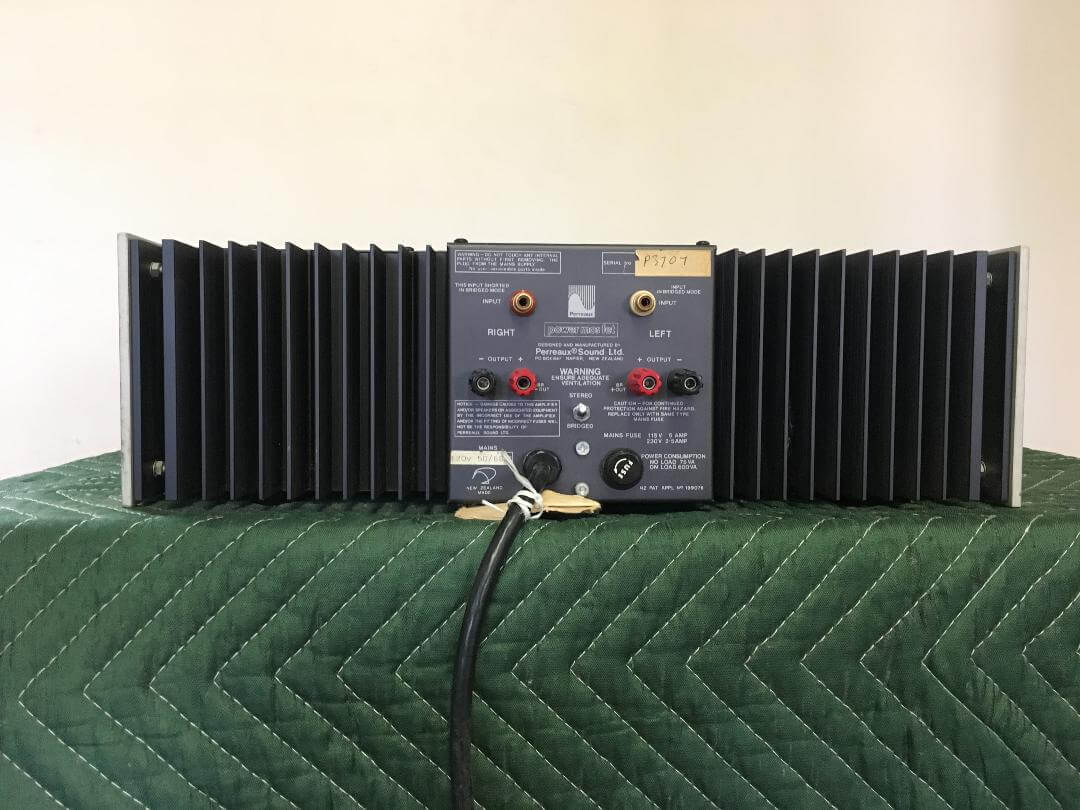 Perreaux SM2 dual channel Class A  preamplifier & PMF 1452B amplifier