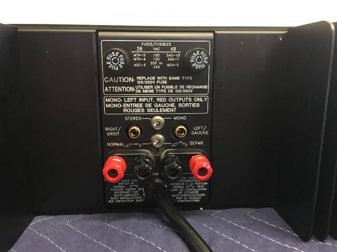 Bryston 4B stereo amplifier
