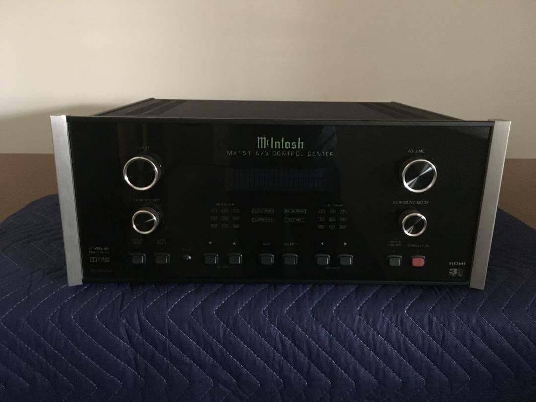 McIntosh MX 151 A/V Control Center