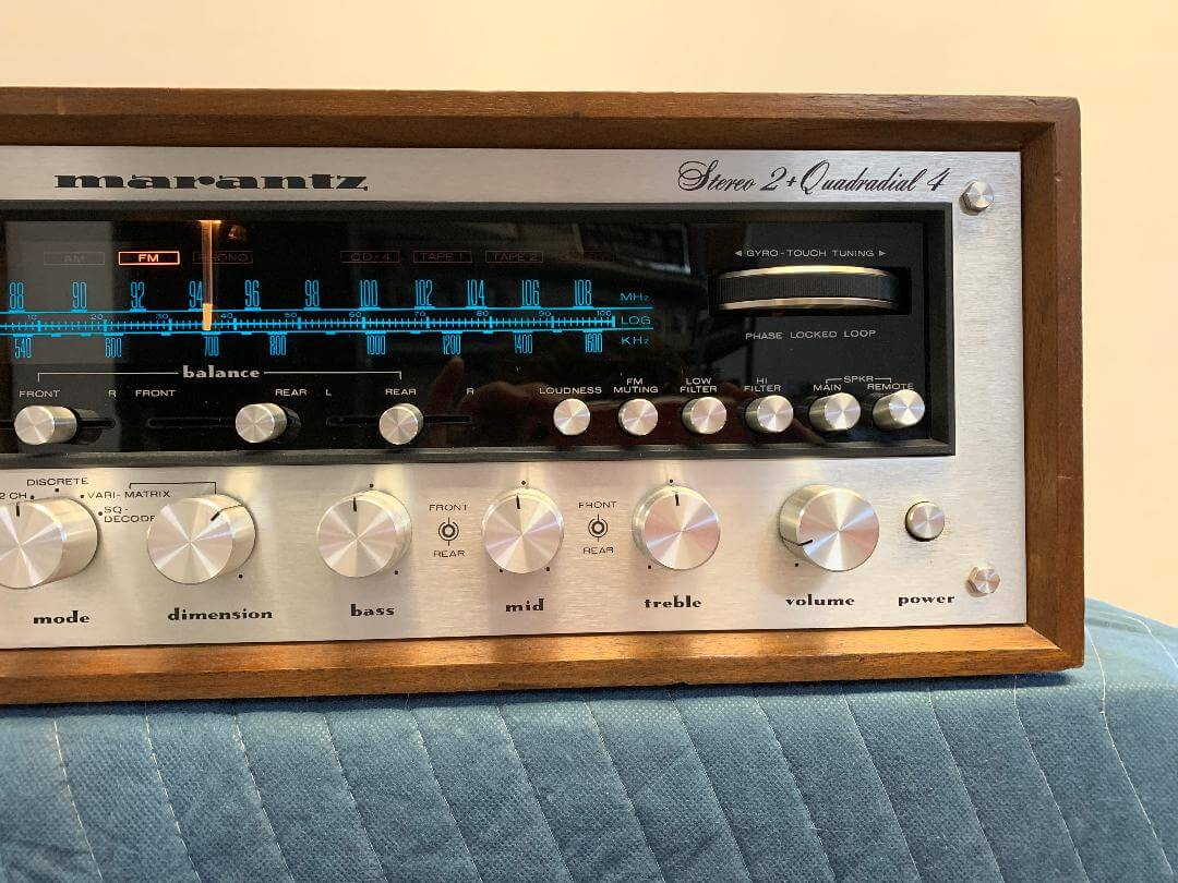 Marantz Model 4300 2+Quadradial 4 stereo receiver