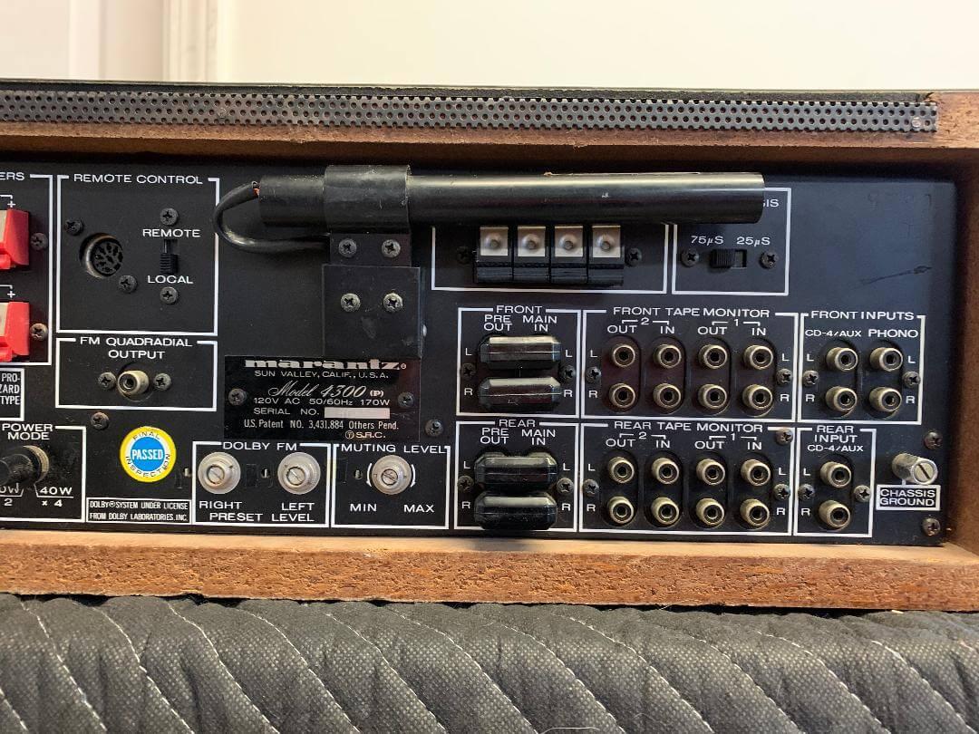 Marantz Model 4300 Stereo 2+Quadradial 4 receiver