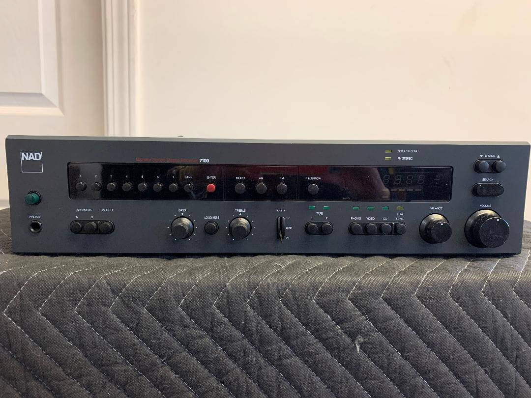 NAD 7100 Monitor Series stereo receiver