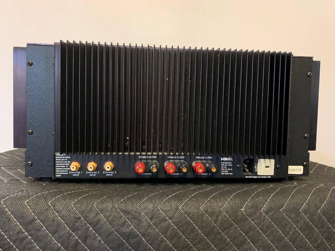 Aragon 8008×3 three channel amplifier