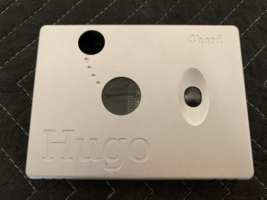 Chord Hugo portable headphone amplifier