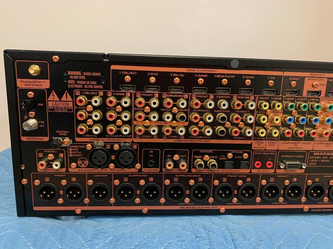 Marantz AV8802 AV pre-tuner