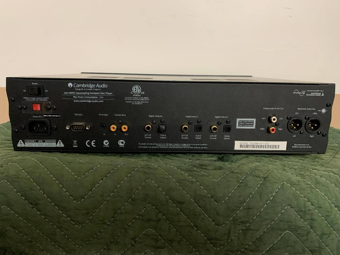 Cambridge Audio Azur 840C upsampling cd player