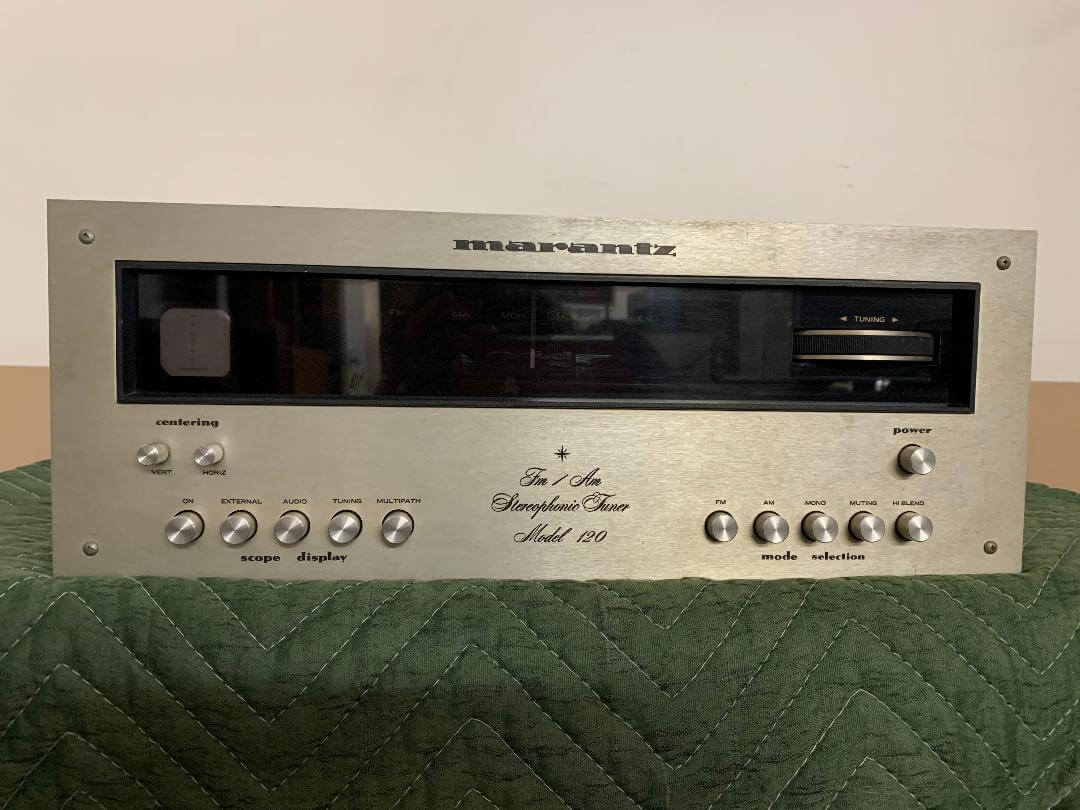 Marantz Model 120 FM/AM stereophonic tuner