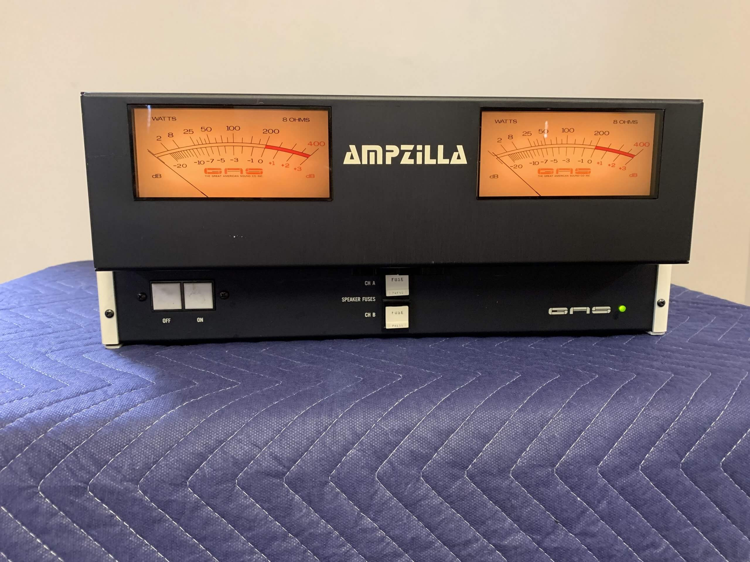Great American Sound AMPZILLA amplifier
