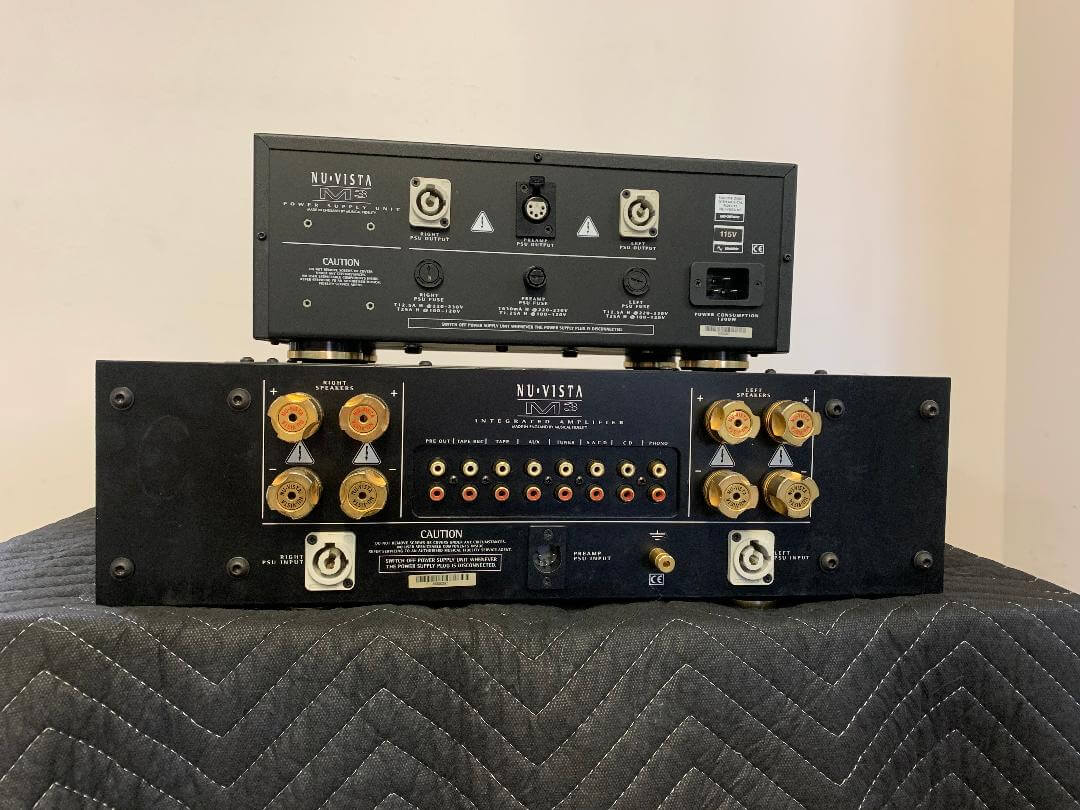 Musical Fidelity Nu Vista M3 integrated amplifier