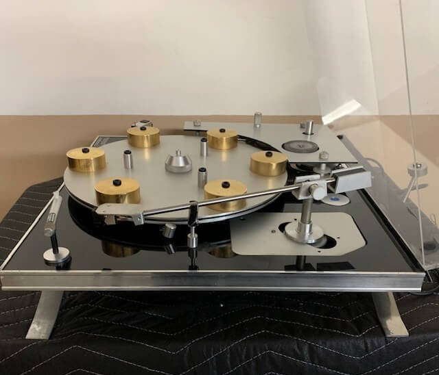 J.A Mitchell transcriptor hydraulic reference turntable