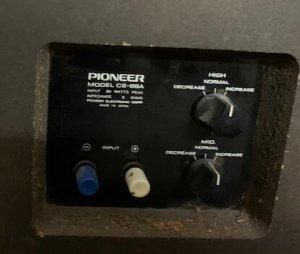 Pioneer CS 88A 5