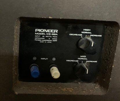 Pioneer Model CS-88A speakers