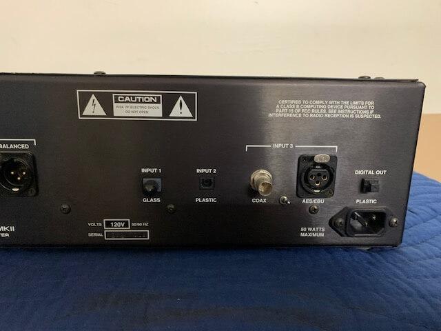 Audio Research DAC3 MKII hi def digital-analog converter