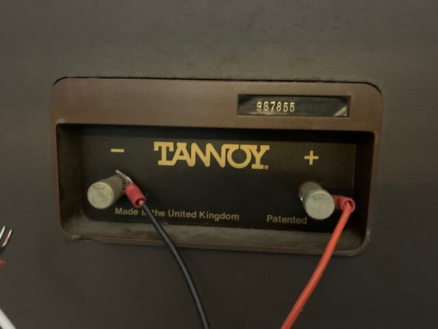 Tannoy Stirling speakers