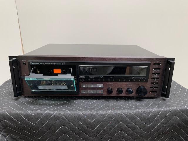 Nakamichi 680ZX discrete head cassette deck
