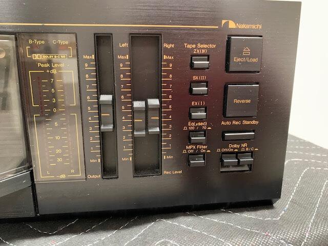 Nakamichi RX-202 unidirectional auto reverse cassette deck