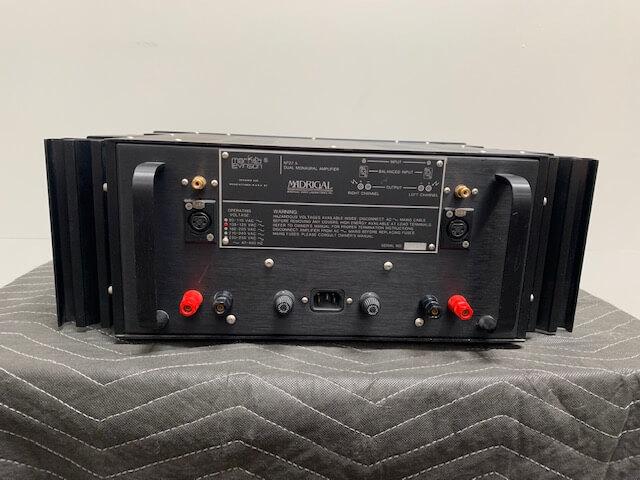 Mark Levinson No. 27.5 dual monaural power amplifier
