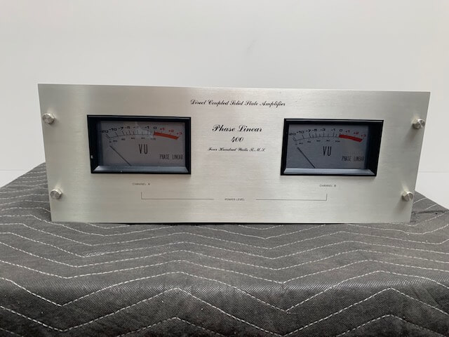 Phase Linear 400 amplifier